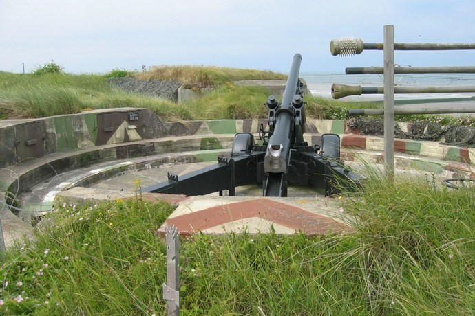 domein Raversijde Oostende kanon