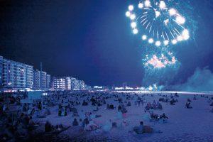 Eindejaar vieren in Oostende