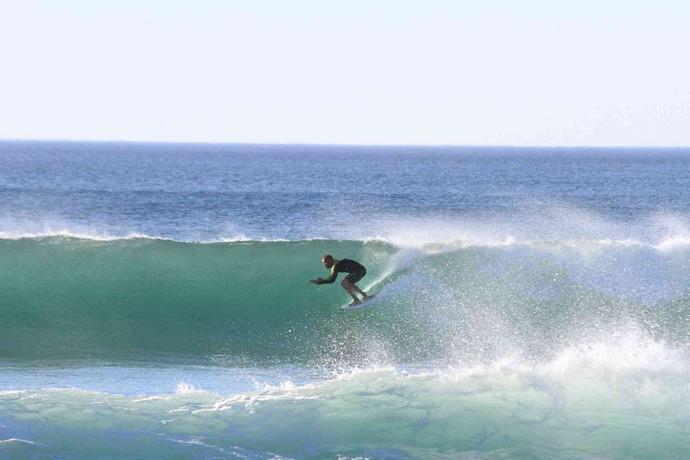 Golfsurfen aan de Belgische kust