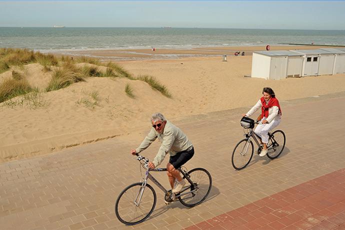 Fietsnetwerk Belgische kust