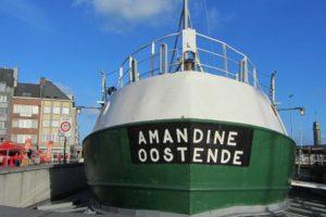Ervaar het leven aan boord op Museumschip Amandine Oostende