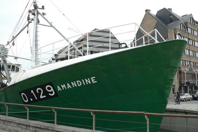 Ervaar het leven aan boord op Museumschip Amandine