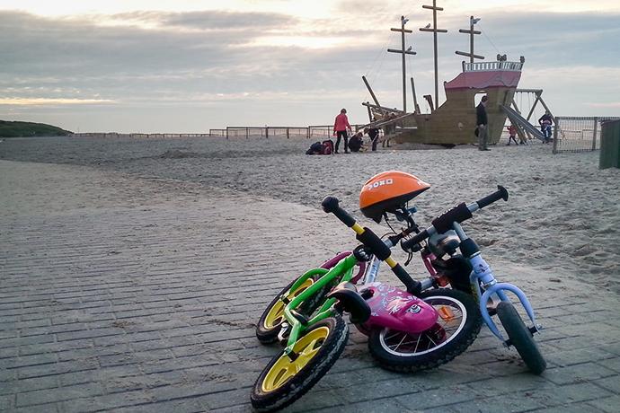 Huur een fiets of gocart aan de Belgische kust
