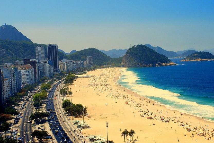 Copacabana Brazilië